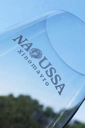 "Novacert<span>Ποτήρια για την καμπάνια προώθησης ""Naoussa Xinomavro""</span>"