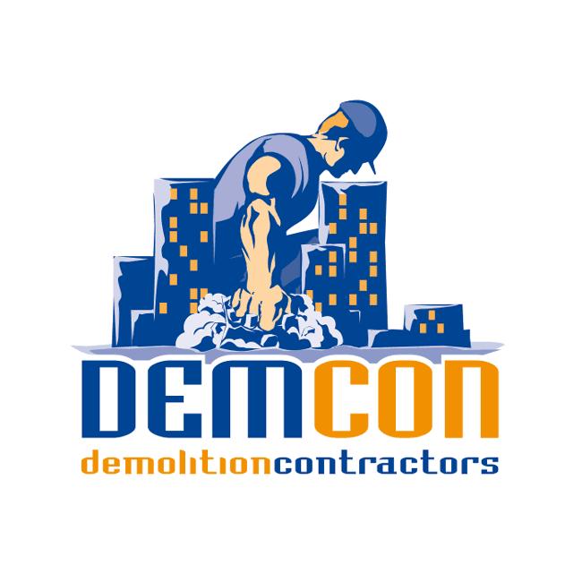 Demcon<span></span>[demolition contractors]<span>Λογότυπο</span>
