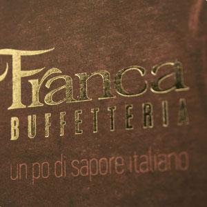 Franca<span></span>[buffetteria]<span>Τρίπτυχο φυλλάδιο</span>