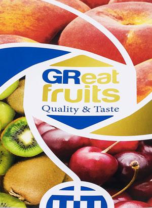 "Novacert<span>8σέλιδη μπροσούρα για την καμπάνια προώθησης ""GReat fruits""</span>"